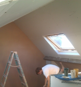 Skimming Plasterers Bath